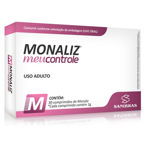 Monaliz 30 Comprimidos Sanibras