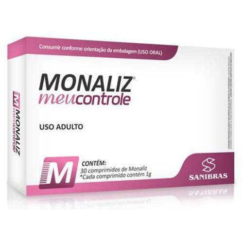 Monaliz Inibidor de Apetite (30 Caps) - Sanibras