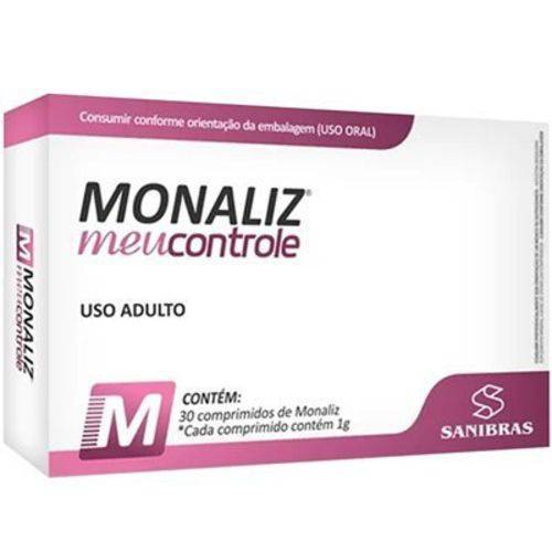 Monaliz Meu Controle 30 Comprimidos Power Supplements