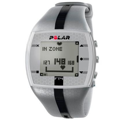Monitor de Frequência Cardíaca Polar FT4M Cinza e Preto