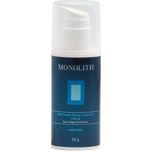 Monolith Anti-Sinais Diurno Noturno Fps 30 Futura Biotech - Rejuvenescedor Facial 50g