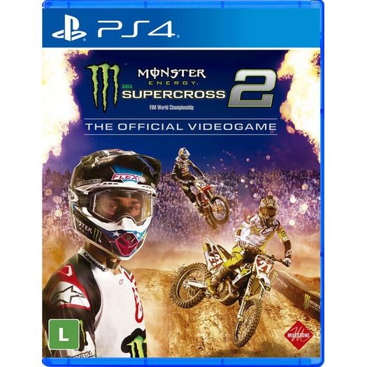 Monster Energy Supercross The Official Videogame 2 - Ps4