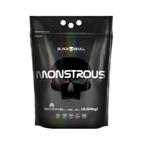 Monstrous 10lbs - Black Skull-Banana