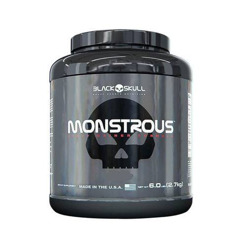 Monstrous 6lbs - Black Skull-Banana