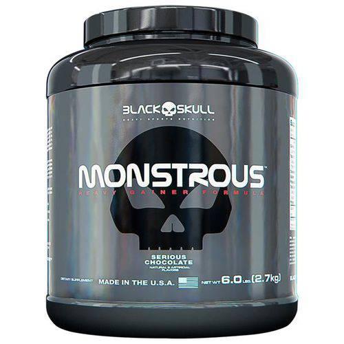 Monstrous 6lbs - Black Skull
