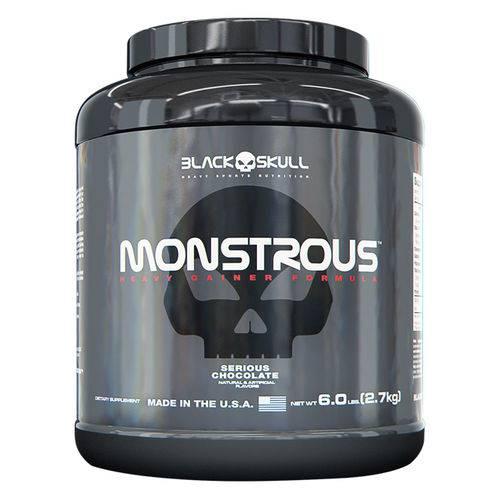 Monstrous - 2,7kg - Black Skull