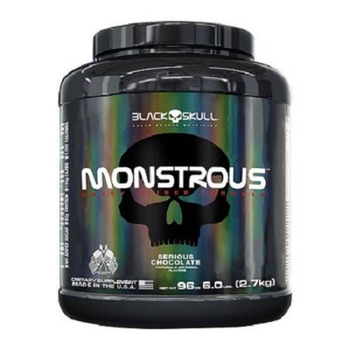 Monstrous Gainer (2,7kg) - Black Skull