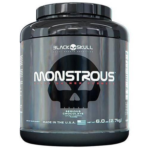Monstrous Gainer Morango 2,7kg - Black Skull
