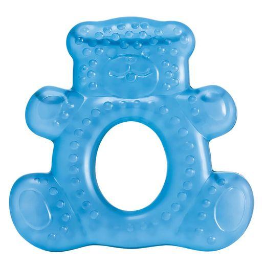 Mordedor com Água Teddy Bear Azul - Multikids Baby