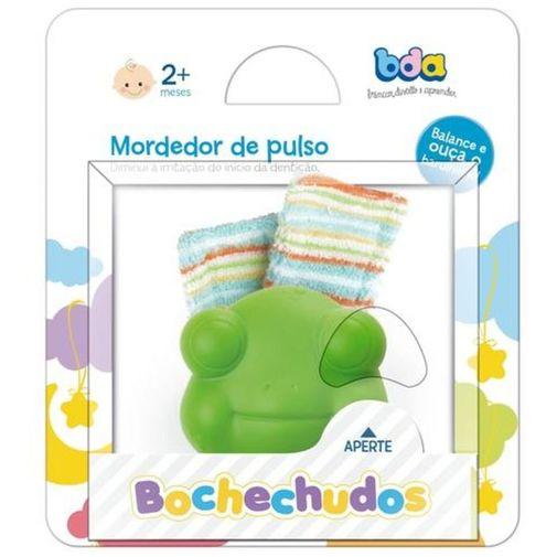 Mordedor de Pulso Bochechudos Verde - Toyster