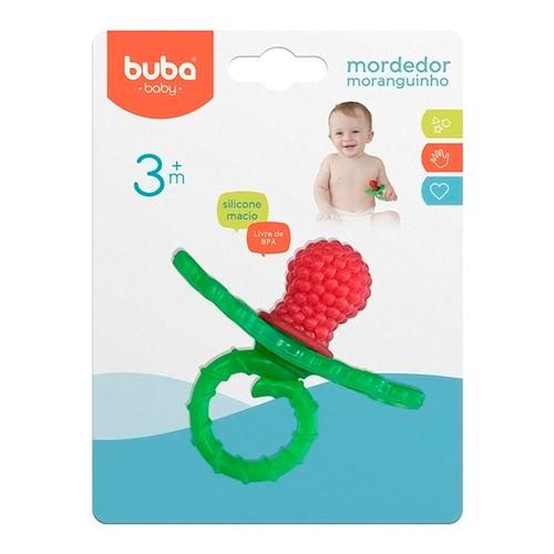 Mordedor Infantil Buba Baby Moranguinho Ref: 7272 1 Unidade