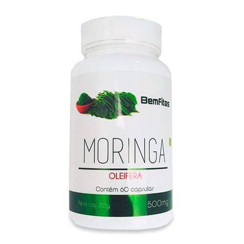 Moringa Oleifera 500mg Bem Fitos - 60 Cápsulas