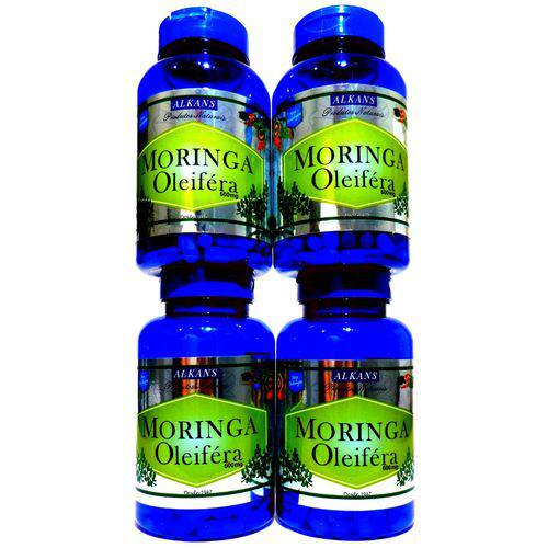 Moringa Oleifera - Combo 4 Potes 240 Cápsulas