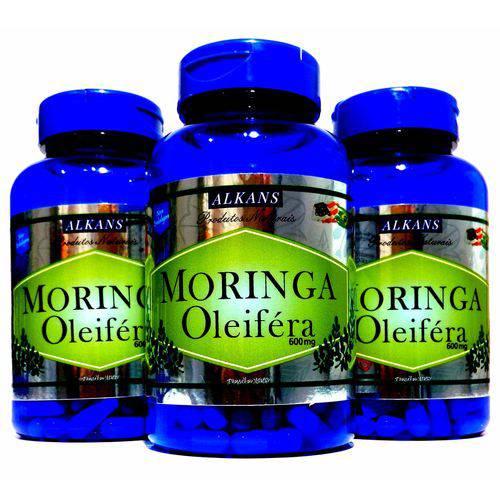 Moringa Oleifera Combo 3 Potes - 180 Cápsulas 600mg