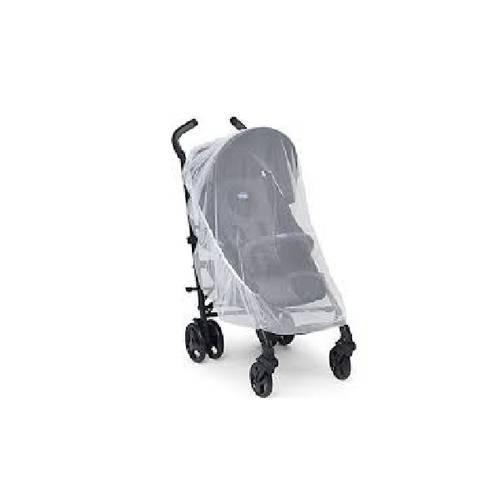 Mosquiteiro Carrinho de Bebê Branco Mqolc01