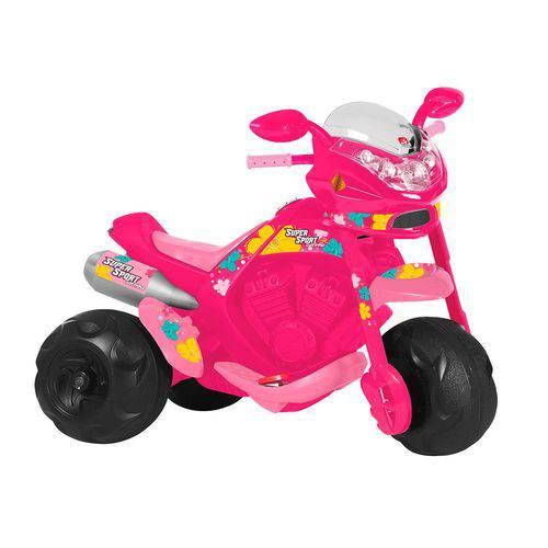 Moto Elétrica Infantil Bandeirante Super Sport 2595