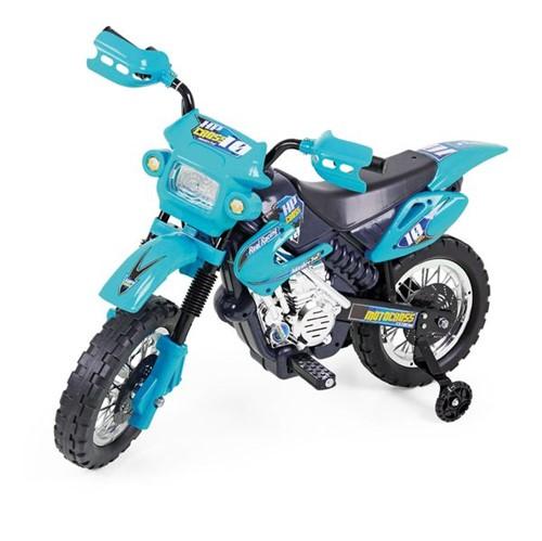 Moto Elétrica Motocross Azul Homeplay