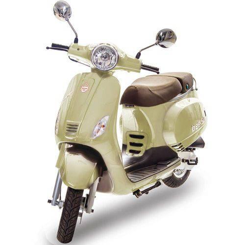 Moto Scooter 50cc com Injeção Eletrônica – Bee 50 Bege