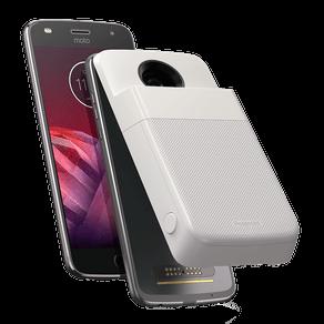 Moto Z2 Play Polaroid Edition 64 GB - Platinum
