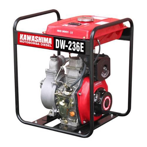 Motobomba Diesel 4,2hp 211cc 2 Dw 236-E Centrífuga Auto-Escorvante Partida Elétrica