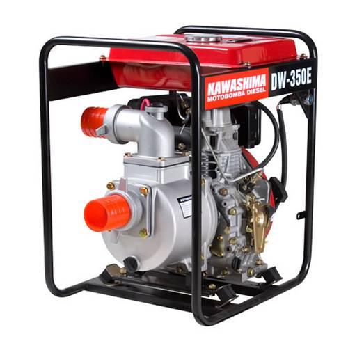 Motobomba Diesel 6hp 296cc Dw 350-E 3 Centrífuga Auto-Escorvante Partida Elétrica