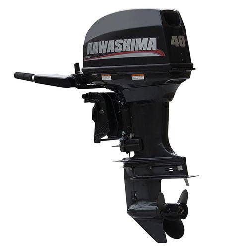 Motor de Popa 40 Hp 2 Tempos Km 40Te Kawashima