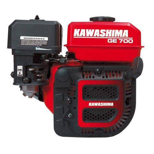 Motor Gasolina 4 Tempos Horizontal 7hp 212cc Kawashima