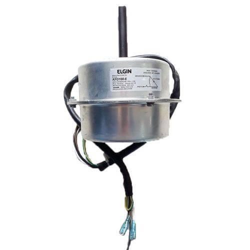 Motor Ventilador Ar Condicionado Split Elgin 48000 60000 Btus Ydk110h6b 220v Kfd100-1