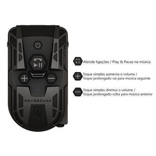 Motosound Bomber Multimídia P/ Moto Música Telefone e Gps