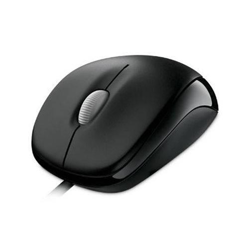 Mouse com Fio Compact Usb Preto Microsoft - U8100010