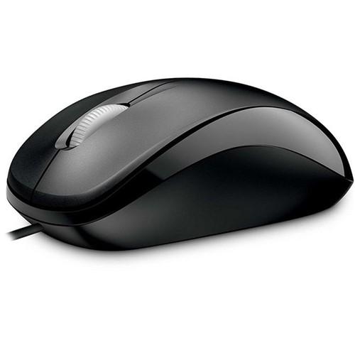 Mouse com Fio USB Compact 500 Preto U81-00010 Microsoft