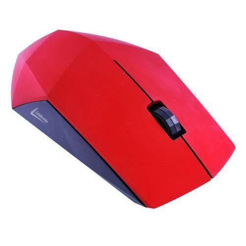Mouse Leadership Diamond Usb 1200dpi Vermelho 1232
