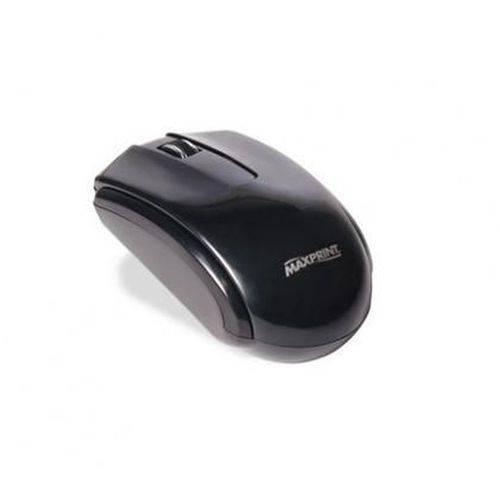 Mouse Maxprint Otico Ps2 com Botao Seletor Preto 606377