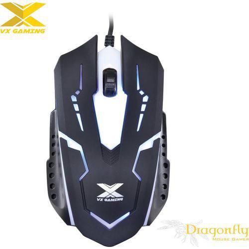 Mouse Óptico Vx Gaming Dragonfly 1000 Dpi Preto Vinik