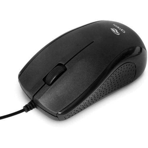 Mouse Ótico C3 Tech USB Ms-26bk Preto