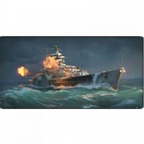 Mouse Pad Gamer Battleship 700 X 350 X 3 Mm