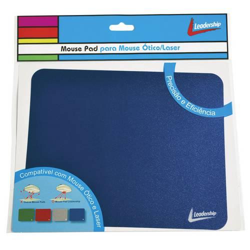 Mouse Pad Leadership para Mouse Ópticolaser Azul