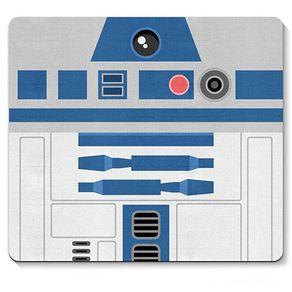 Mouse Pad Robo R2D2 Star Wars Faces