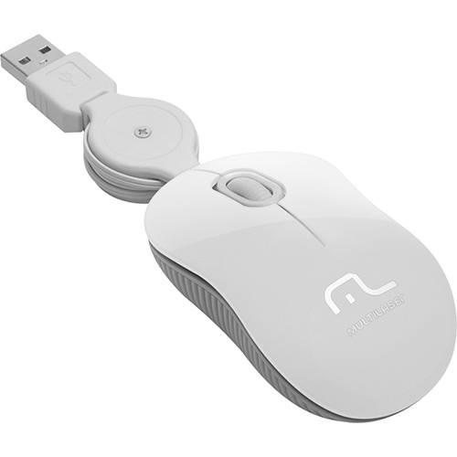 Mouse Retrátil Super Mini Ice USB - Multilaser