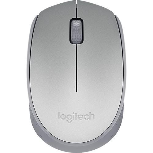 Mouse Sem Fio M170 Prata - Logitech