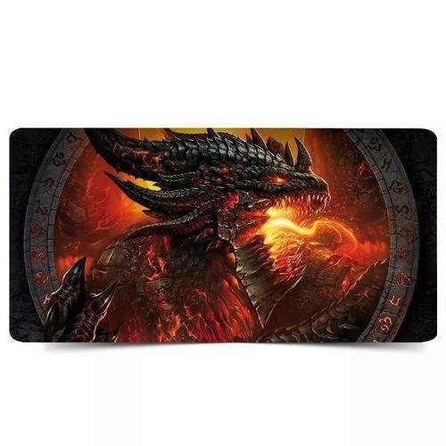 Mousepad Gamer Grande 700x350cm (dragão de Fogo)
