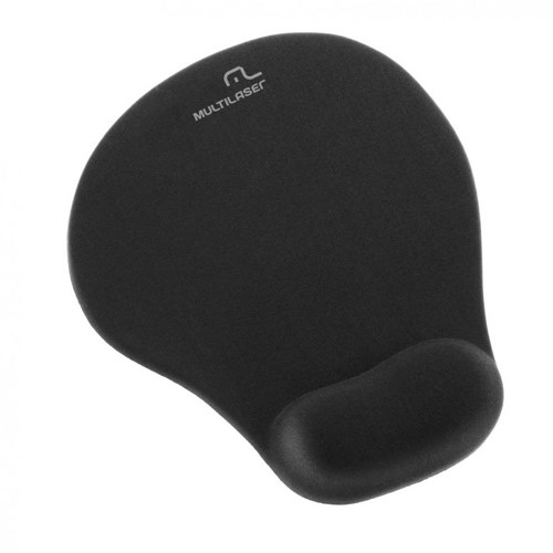 Mousepad Gel Preto Multilaser - Ac021