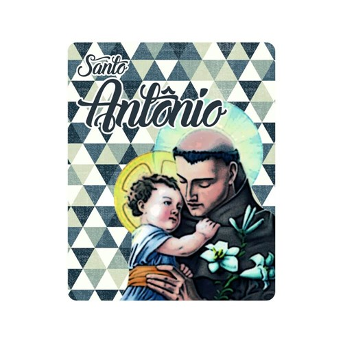 Mousepad Santo Antônio   SJO Artigos Religiosos