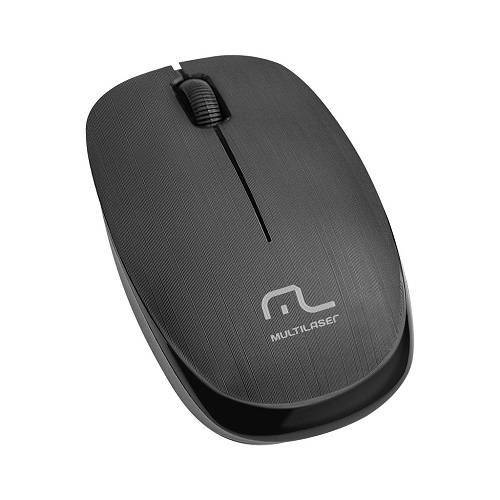 Mouses Optico Sem Fio 1200Dpi 2.4Ghz Preto Multilaser