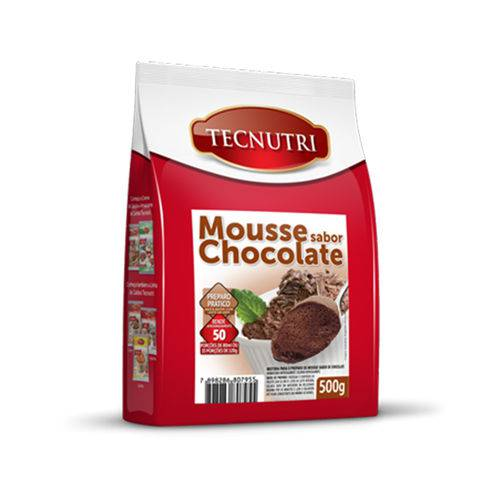 Mousse Sabor Chocolate 500g Tecnutri
