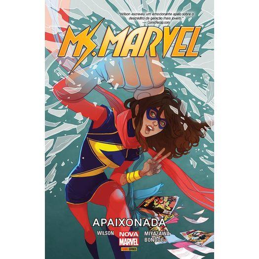 Ms Marvel - Apaixonada - Panini