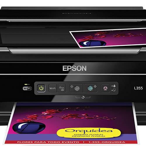 Multifuncional Epson Tanque de Tinta L355 com Wi-Fi