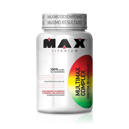 Multimax Complex - 60caps - Max Titanium