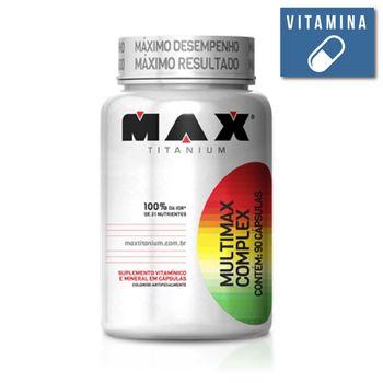 Multimax Complex 90 Caps. - Max Titanium