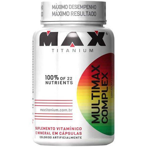 Multimax Complex Suplemento Alimentar 60 Cápsulas - Max Titanium